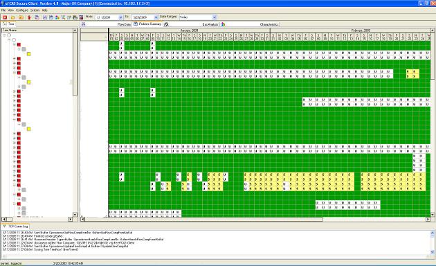 EFCAS Screenshot