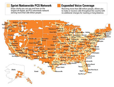 Coverage Maps - Us internet coverage map minneapolis