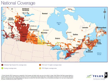 Verizon Coverage In Canada Map Coverage Maps