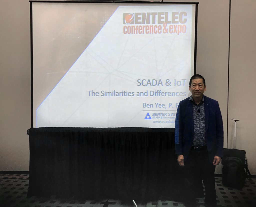 ENTELEC 2018 – SCADA & IoT – The Similarities and Differences