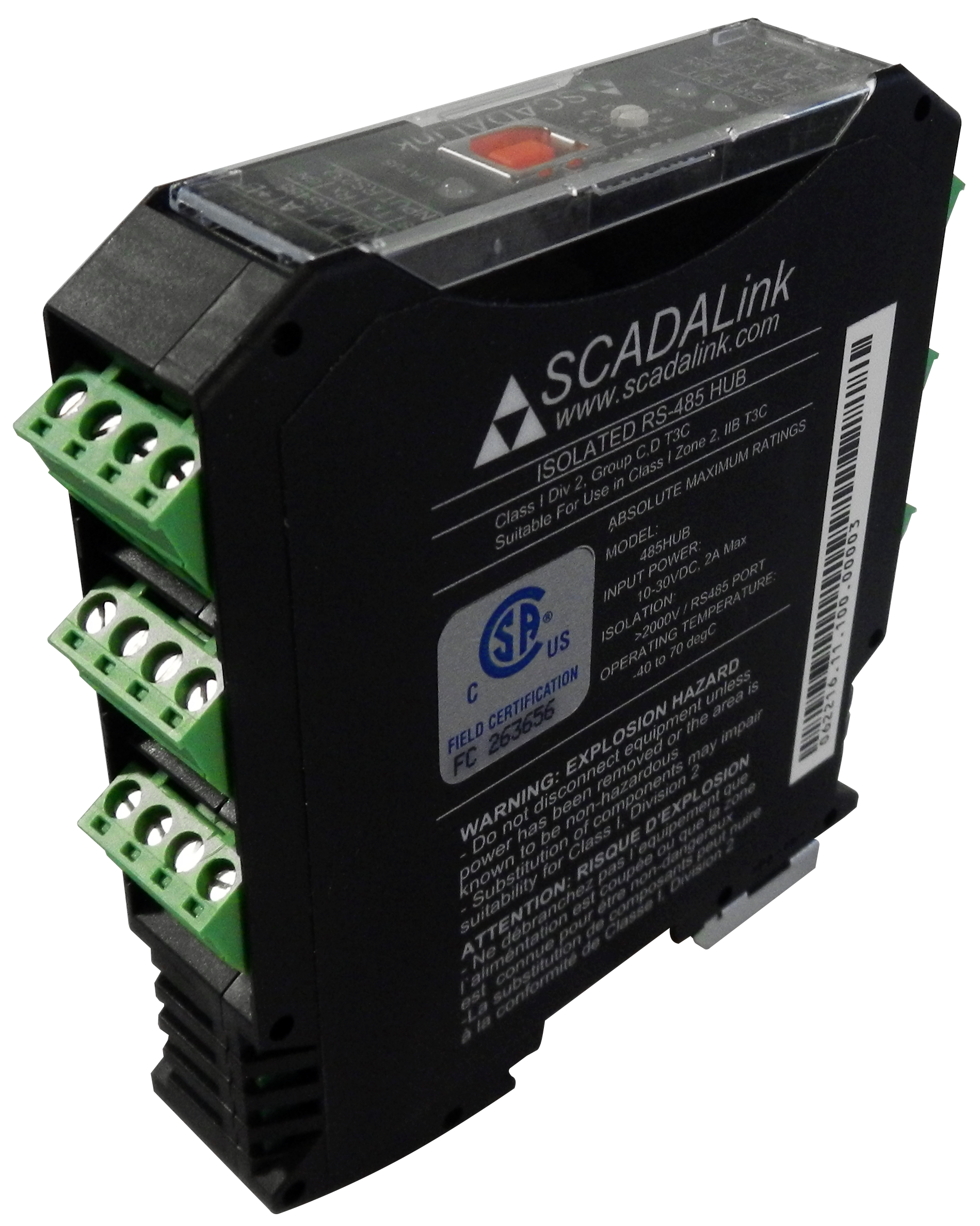 SCADALink RS485 HUB