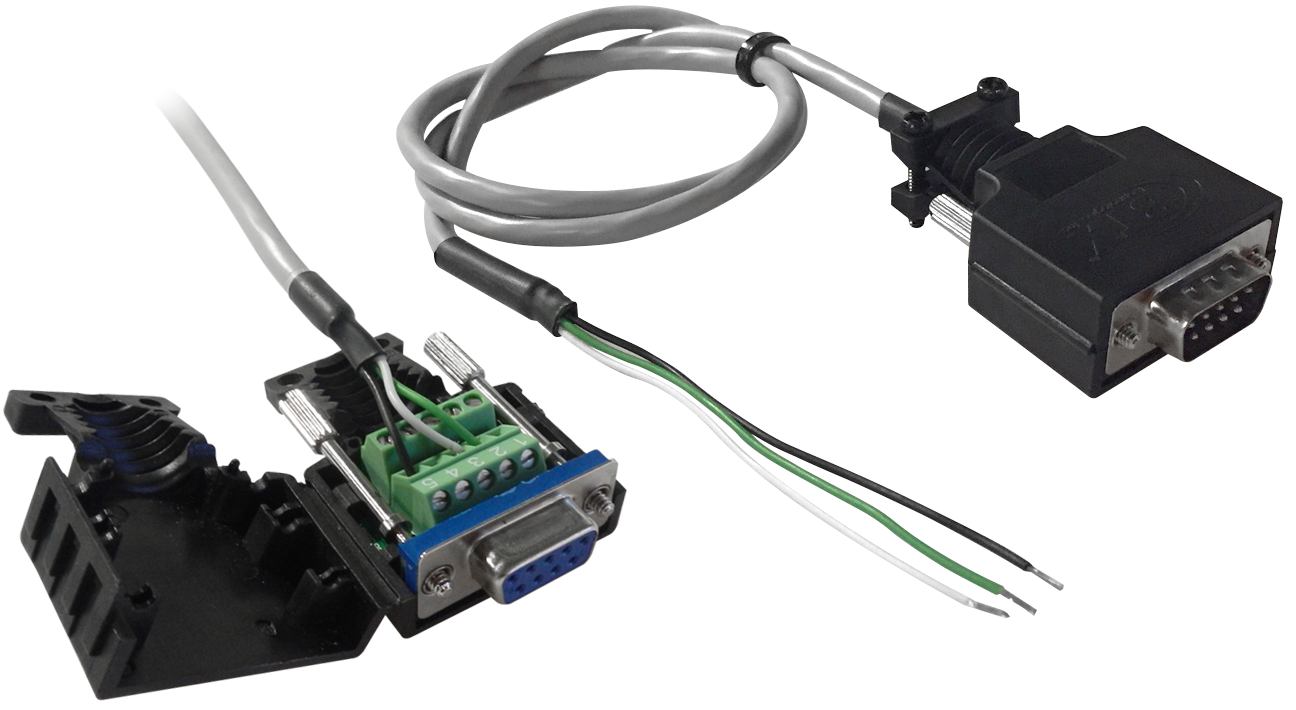 Custom Rs232 Serial Cables Modem Cable Db9 Female To Terminal Blocks Connectors Can Be Used Make In The Field Block Allow Connectivity Without
