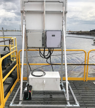 Tailings Pond Level Monitoring System Using Differential GPS and