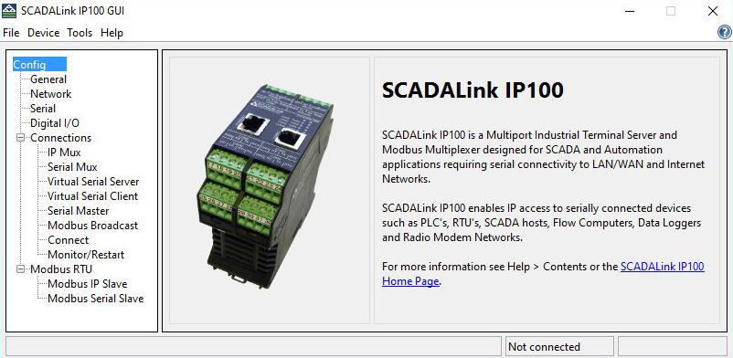 IP100 GUI