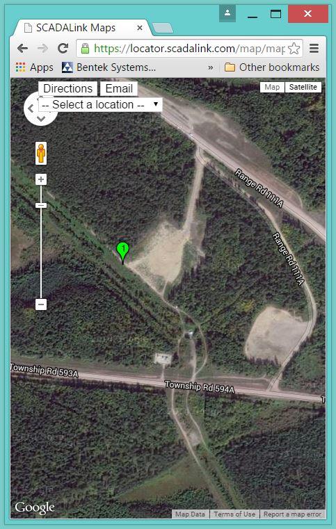 Locator-DLS MAP