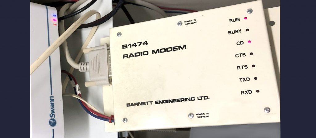 1200 Baud Bell 202 Radio-Modem Replacement