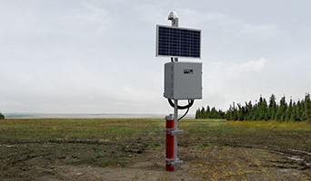 Satellite Telemetry for Real Time Groundwater Monitoring