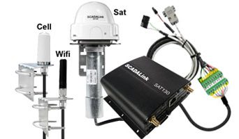 SCADALink SAT130 – Wireless Industrial M2M/IoT Modem & Gateway for Mobile and Fixed Applications