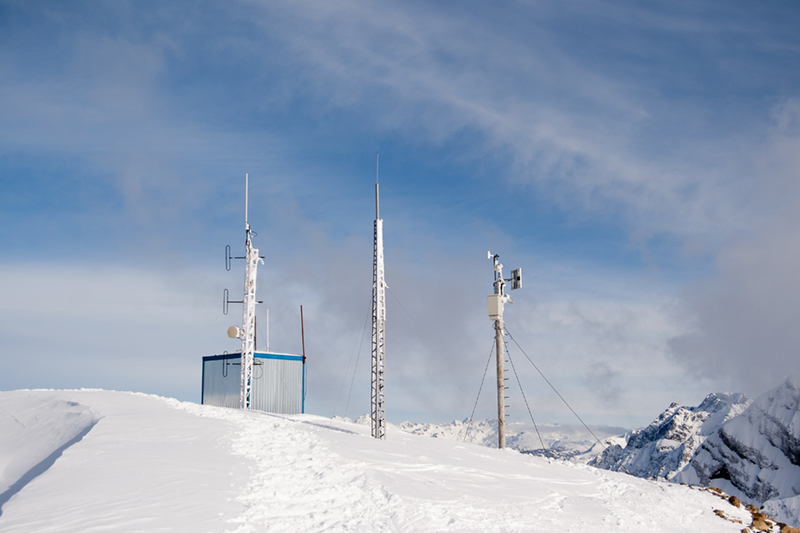 SatSCADA Mountain Top Repeater Monitoring