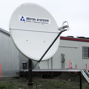 satellite dish - communication service