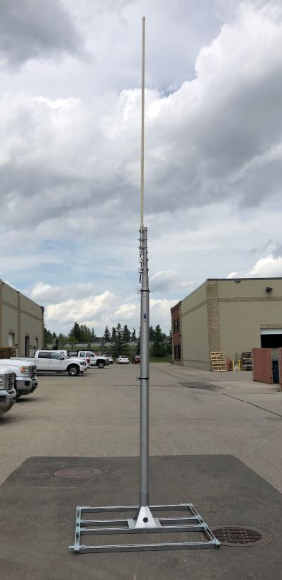 Telescopic Antenna Mast