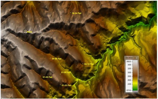 Terrain Map 1