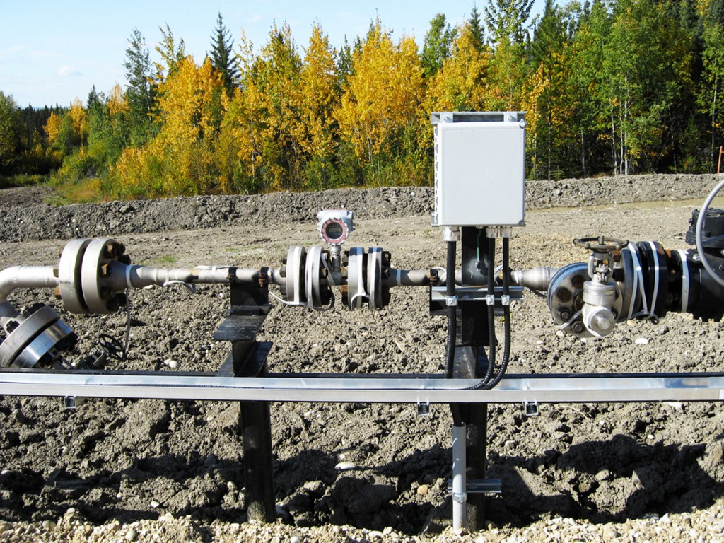 Water Injection Well Site - Flow Analyzer
