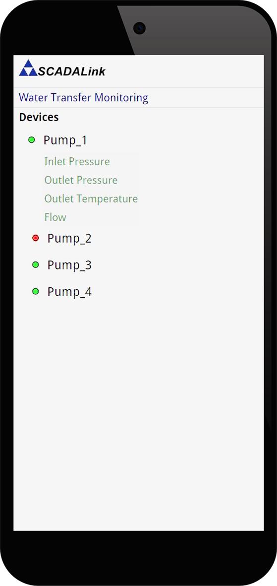 Web Client - PumpMate - Alarm - Devices - View