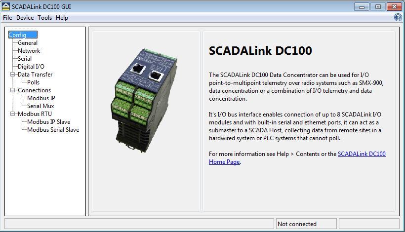 SCADALink DC100 Modbus Data Concentrator