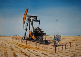 Oil Field Automation Painting